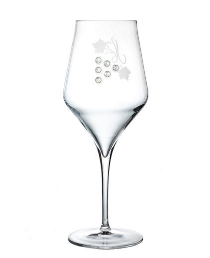 Calici da vino rosso in cristallo