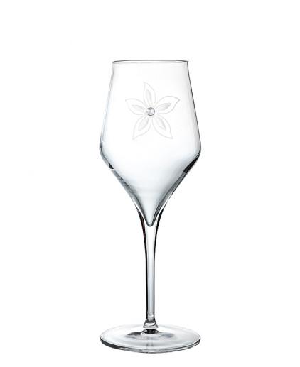 bicchieri a calice da vino bianco