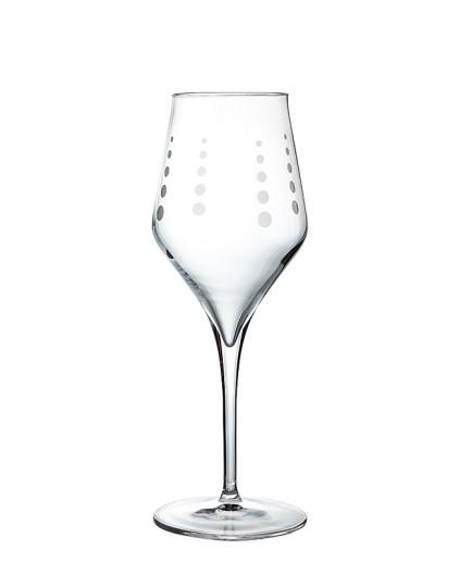 Calici in cristallo da vino bianco