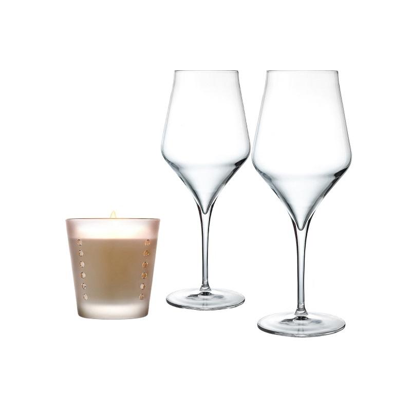 I Calici Da Degustazione : Pacchetto regalo calici da vino bianco laboratorio piatti a