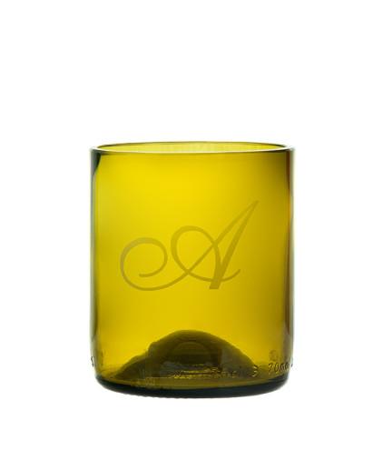 Bicchiere Vino #Recycling - Personalizzato
